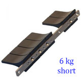 Roestvast stalen rail voor V-weight_