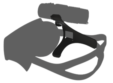 Vaquita Adjustable mask mount