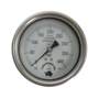 100 mm Dry gauge G1/4 for panel mounting 0-400 Bar - For Nitrox & O2