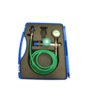 Oxygen decanting assembly with 2 mtr. Hose & 100 mm - DPM 300 Digital gauge & cover